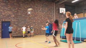 Hersengymnastiek afgewisseld met gymnastiek...